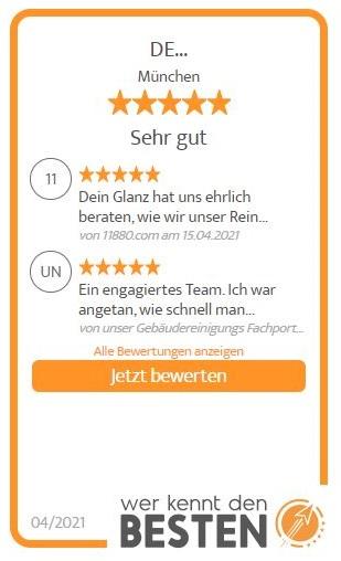 Reinigungsfirma München - Wer kennt den Besten